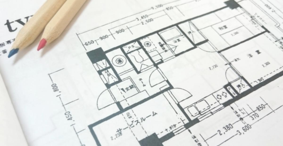 新築住宅の平面図