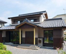 最新機能を詰め込んだALC 純和風住宅。