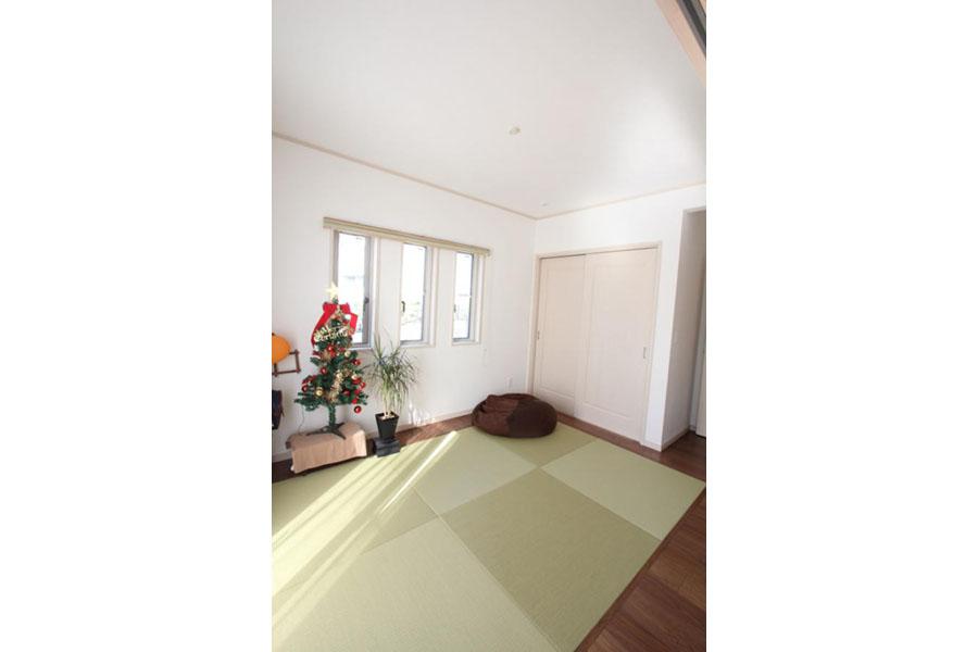 フラットな畳スペース