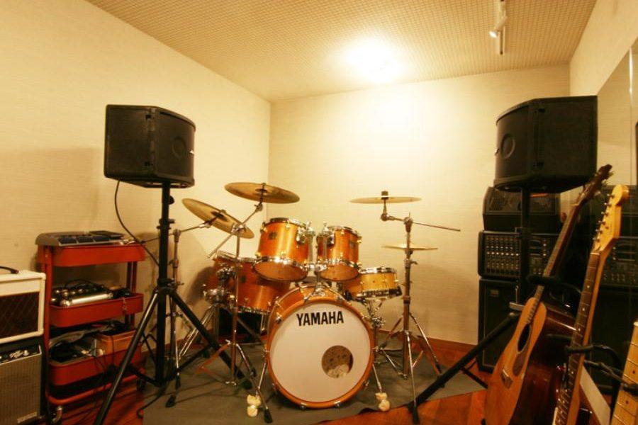 バンド練習できるホームスタジオ