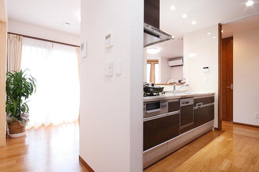 家事動線の良いキッチン