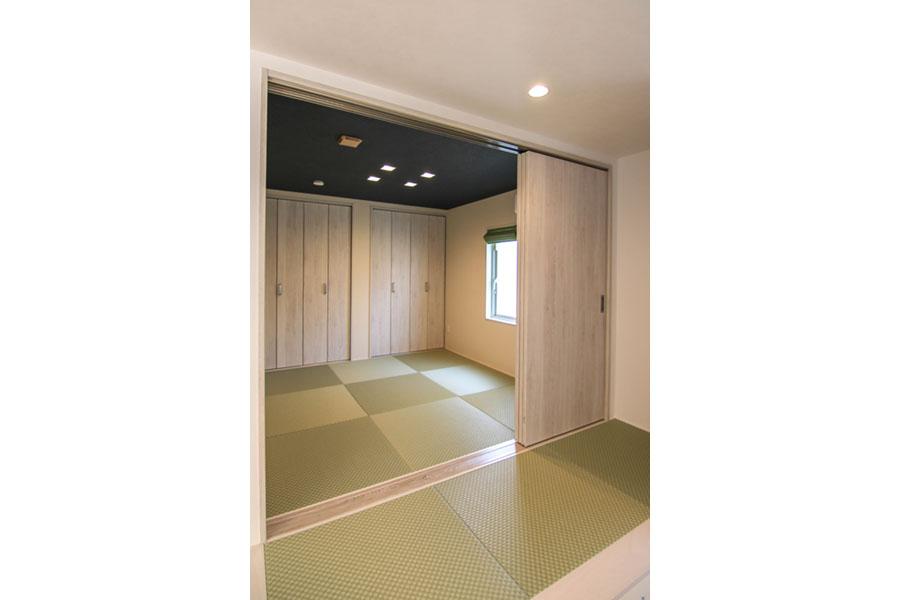 4.5畳のコンパクトな和室