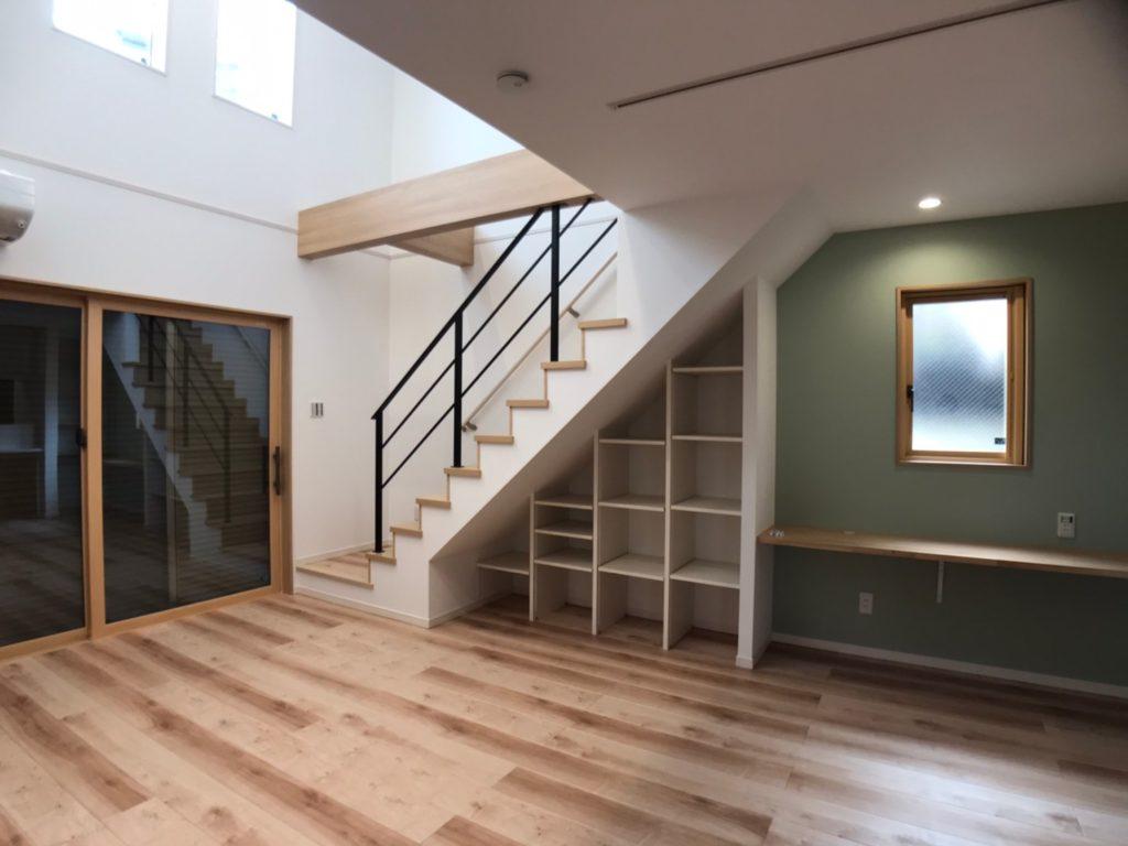 階段下収納に優れたアイデア設計