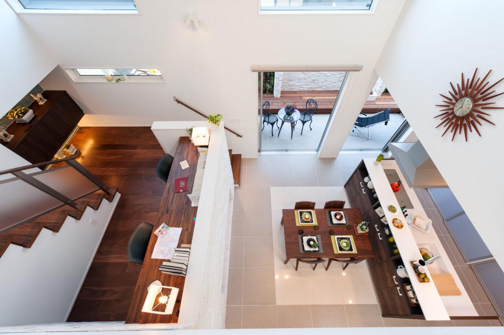 デザイン性の高い間取り設計|家族とのつながりを考えた空間づくり
