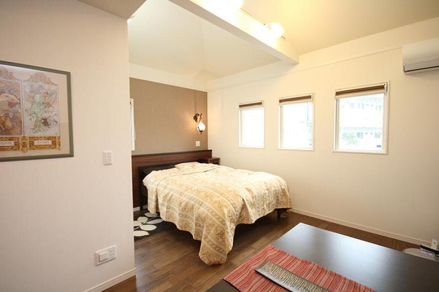 暖かみのある寝室